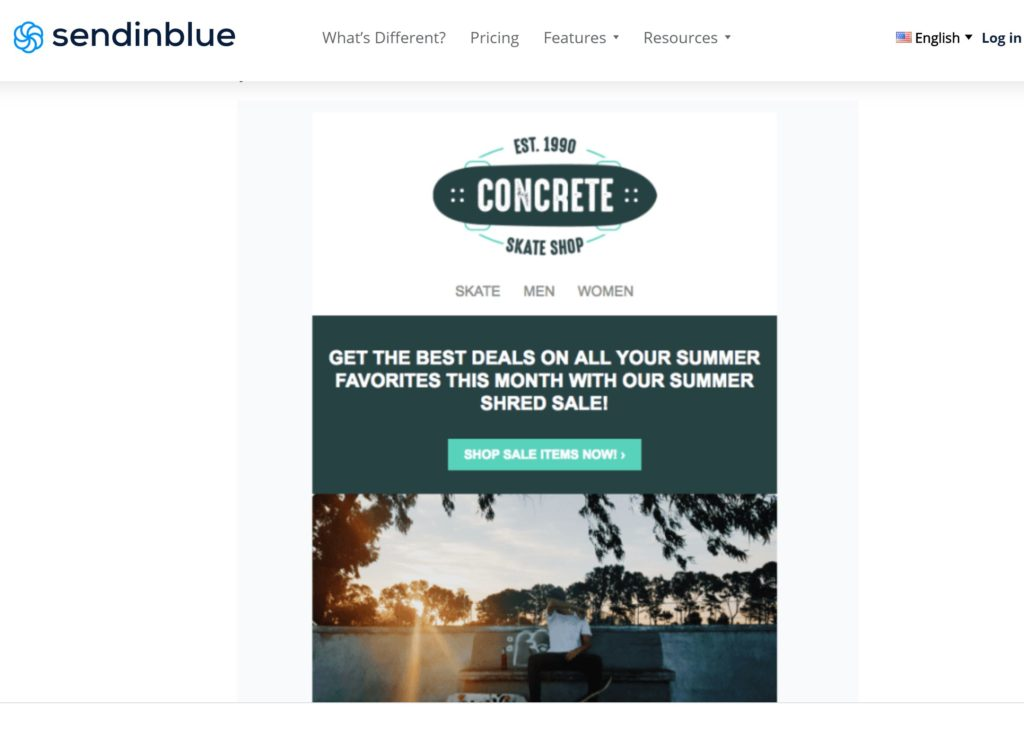 sendinblue email newsletter templates
