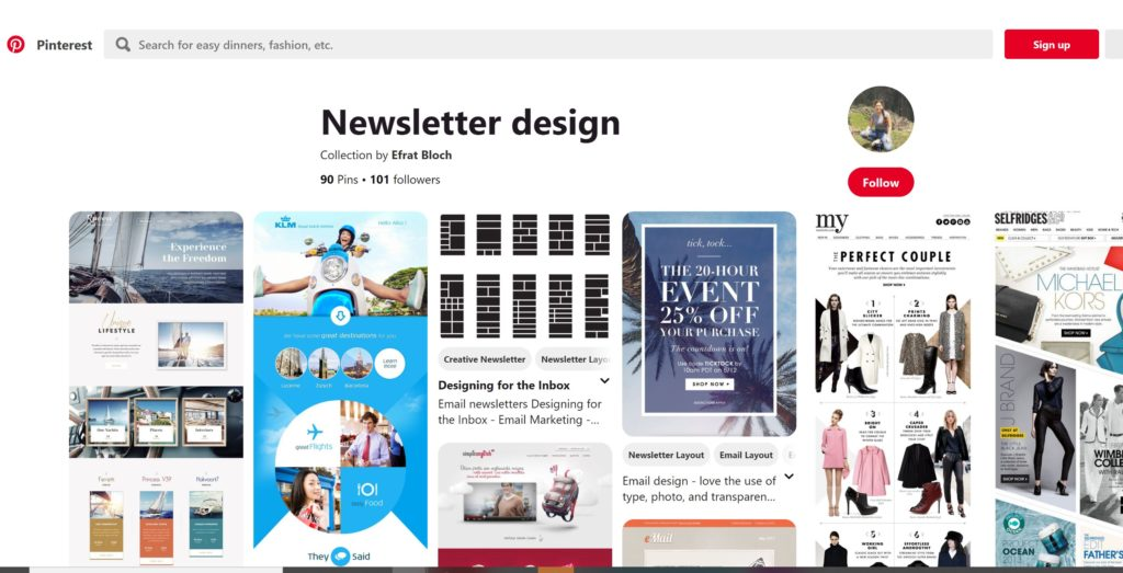 email newsletter templates ideas
